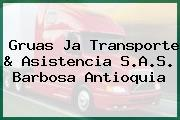 Gruas Ja Transporte & Asistencia S.A.S. Barbosa Antioquia