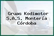 Gruas Kodimotor S.A.S. Montería Córdoba
