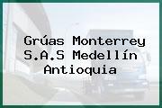 Grúas Monterrey S.A.S Medellín Antioquia