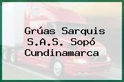 Grúas Sarquis S.A.S. Sopó Cundinamarca
