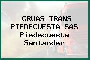 Gruas Trans Piedecuesta S.A.S. Piedecuesta Santander