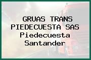 GRUAS TRANS PIEDECUESTA SAS Piedecuesta Santander