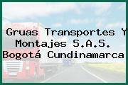 Gruas Transportes Y Montajes S.A.S. Bogotá Cundinamarca