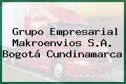 Grupo Empresarial Makroenvios S.A. Bogotá Cundinamarca