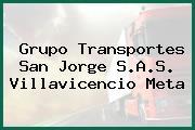 Grupo Transportes San Jorge S.A.S. Villavicencio Meta