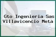 Gto Ingenieria Sas Villavicencio Meta