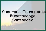 Guerrero Transporte Bucaramanga Santander