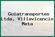 Guiatransportes Ltda. Villavicencio Meta