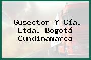 Gusector Y Cía. Ltda. Bogotá Cundinamarca