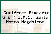 Gutiérrez Pimienta G & P S.A.S. Santa Marta Magdalena