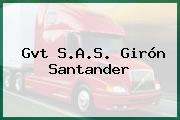 Gvt S.A.S. Girón Santander