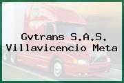 Gvtrans S.A.S. Villavicencio Meta