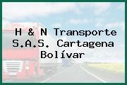 H & N Transporte S.A.S. Cartagena Bolívar