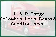 H & R Cargo Colombia Ltda Bogotá Cundinamarca