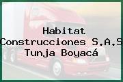 Habitat Construcciones S.A.S Tunja Boyacá