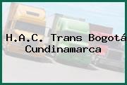 H.A.C. Trans Bogotá Cundinamarca