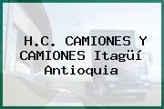 H.C. CAMIONES Y CAMIONES Itagüí Antioquia