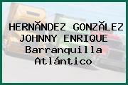 HERNÃNDEZ GONZÃLEZ JOHNNY ENRIQUE Barranquilla Atlántico