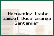Hernandez Lache Samuel Bucaramanga Santander