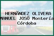 HERNÃNDEZ OLIVERA MANUEL JOSÕ Montería Córdoba