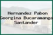 Hernandez Pabon Georgina Bucaramanga Santander