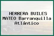 HERRERA BUILES MATEO Barranquilla Atlántico