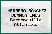 HERRERA SÃNCHEZ BLANCA INES Barranquilla Atlántico
