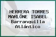 HERRERA TORRES MARLÕNE ISABEL Barranquilla Atlántico