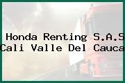 Honda Renting S.A.S Cali Valle Del Cauca