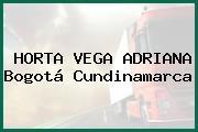 HORTA VEGA ADRIANA Bogotá Cundinamarca