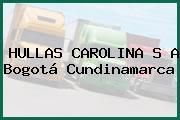 HULLAS CAROLINA S A Bogotá Cundinamarca