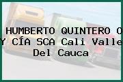 HUMBERTO QUINTERO O Y CÍA SCA Cali Valle Del Cauca