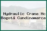 Hydraulic Crane Hc Bogotá Cundinamarca
