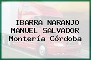 IBARRA NARANJO MANUEL SALVADOR Montería Córdoba