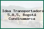 Idea Transportadora S.A.S. Bogotá Cundinamarca
