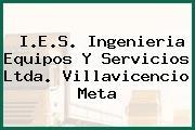 I.E.S. Ingenieria Equipos Y Servicios Ltda. Villavicencio Meta