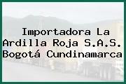 Importadora La Ardilla Roja S.A.S. Bogotá Cundinamarca