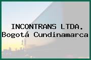 INCONTRANS LTDA. Bogotá Cundinamarca