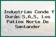 Industrias Conde Y Durán S.A.S. Los Patios Norte De Santander
