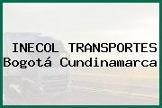 INECOL TRANSPORTES Bogotá Cundinamarca