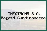 INFOTRANS S.A. Bogotá Cundinamarca