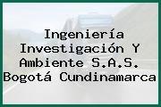 Ingeniería Investigación Y Ambiente S.A.S. Bogotá Cundinamarca