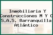 Inmobiliaria Y Construcciones M Y C S.A.S. Barranquilla Atlántico