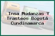 Insa Mudanzas Y Trasteos Bogotá Cundinamarca