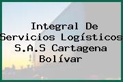Integral De Servicios Logísticos S.A.S Cartagena Bolívar