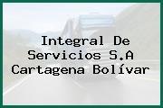 Integral De Servicios S.A Cartagena Bolívar
