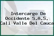 Intercargo De Occidente S.A.S. Cali Valle Del Cauca