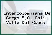 Intercolombiana De Carga S.A. Cali Valle Del Cauca