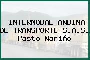 INTERMODAL ANDINA DE TRANSPORTE S.A.S. Pasto Nariño