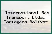 International Sea Transport Ltda. Cartagena Bolívar